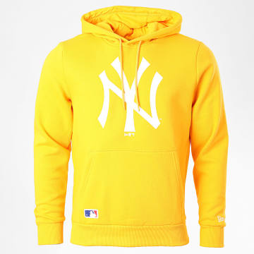 New Era - Sweat Capuche Team Logo 12369833 New York Yankees Jaune