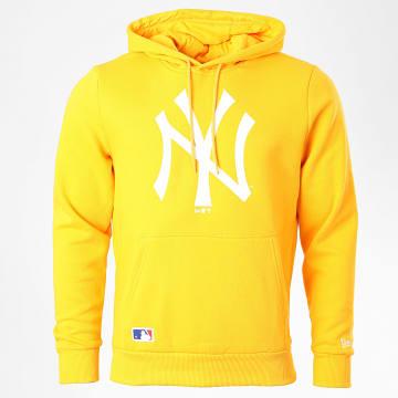 New Era - Sweat Capuche Team Logo 12369833 New York Yankees Jaune