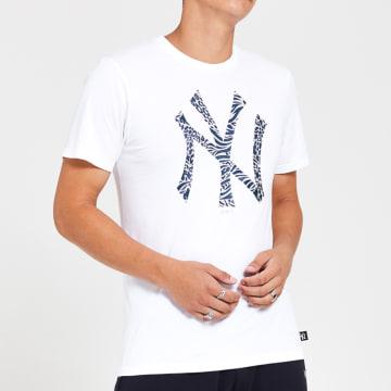 New Era - Tee Shirt Print Infill 12369838 New York Yankees Blanc