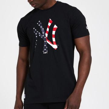 New Era - Tee Shirt Team Logo Infill 12369841 New York Yankees Noir