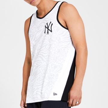 New Era - Débardeur All Over Print 12369850 New York Yankees Blanc