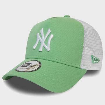 New Era - Casquette Trucker League Essential 12381030 New York Yankees Vert Clair