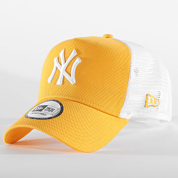 New Era - Casquette Trucker League Essential 12381031 New York Yankees Jaune