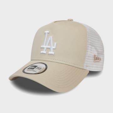 New Era - Casquette Trucker League Essential 12381032 Los Angeles Dodgers Beige