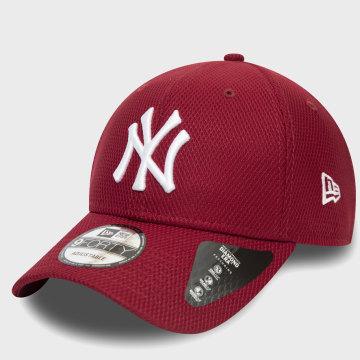 New Era - Casquette 9Forty Diamond Era 12285515 New York Yankees Rouge