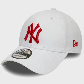 New Era - Casquette 9Forty Essential League 12380597 New York Yankees Blanc