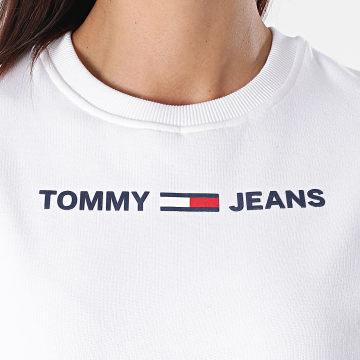 Tommy Hilfiger - Sweat Crewneck Femme Logo 7976 Blanc