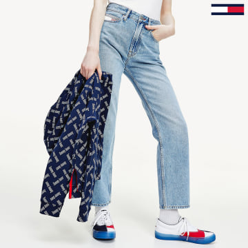 Tommy Jeans - Jean Droit Femme Harper 8118 Wash