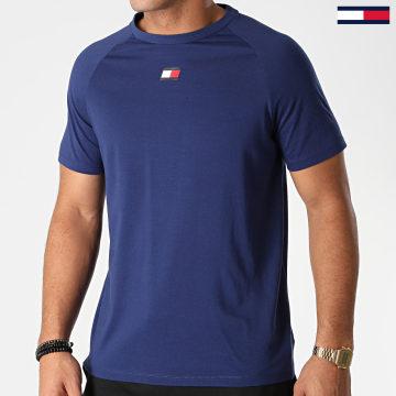 Tommy Sport - Tee Shirt Chest Logo 0356 Bleu Marine