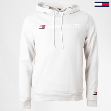 Tommy Sport - Sweat Capuche Chest Logo 0363 Gris