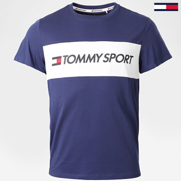 Tommy Sport - Tee Shirt S20S200375 Bleu