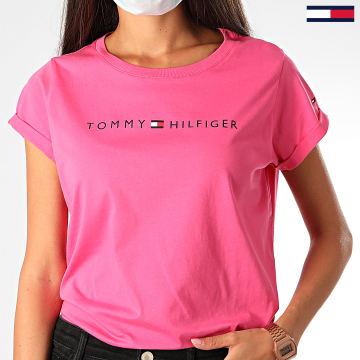 Tommy Hilfiger - Tee Shirt Femme UW0UW01618