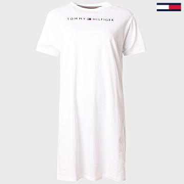 Tommy Hilfiger - Tee Shirt Robe Femme 1639 Blanc