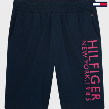 Tommy Hilfiger - Short Jogging New York Logo Bleu Marine