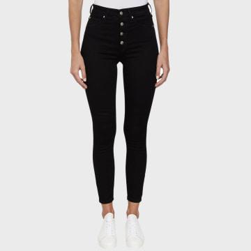Calvin Klein - Jean Skinny Femme 3295 Noir