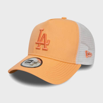 New Era - Casquette Trucker Femme League Essential 12380757 Los Angeles Dodgers Orange