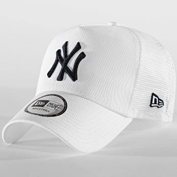 New Era - Casquette Trucker League Essential 12381026 New York Yankees Blanc
