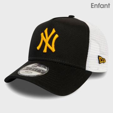 New Era - Casquette Trucker Enfant League Essential 12381039 New York Yankees Noir