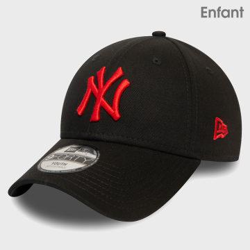 New Era - Casquette Enfant 9Forty League Essential 12381054 New York Yankees Noir