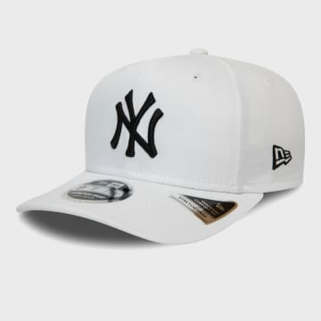 New Era - Casquette 9Fifty Stretch Snap 12381063 New York Yankees Blanc