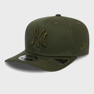 New Era - Casquette 9Fifty Stretch Snap 12381065 New York Yankees Vert Kaki