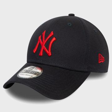 New Era - Casquette Fitted 39Thirty League Essential 12381078 New York Yankees Bleu Marine