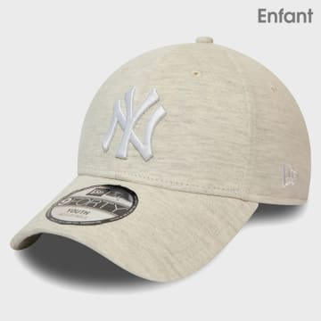 New Era - Casquette Enfant 9Forty Jersey Essential 12381107 New York Yankees Beige