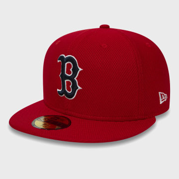 New Era - Casquette Fitted 59Fifty 12381131 Boston Red Sox Rouge