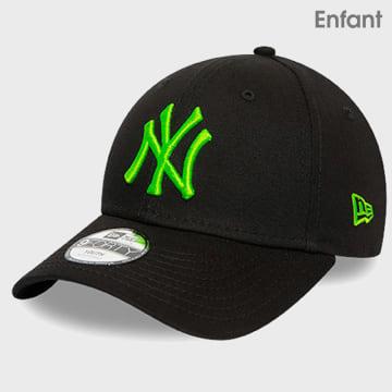New Era - Casquette Enfant 9Forty MLB 12386818 New York Yankees Noir