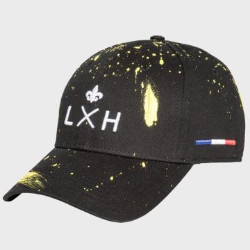 LXH - Casquette LXH'Art French Touch Noir Jaune