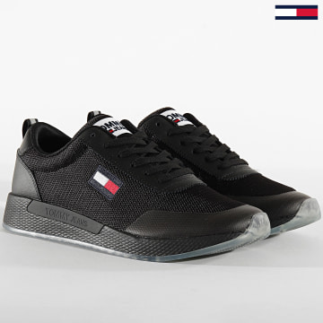 Tommy Jeans - Baskets Flexi Runner 0490 Black