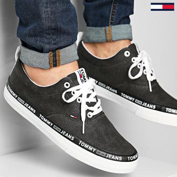 Tommy Jeans - Baskets Classic Lace Up 0493 Noir