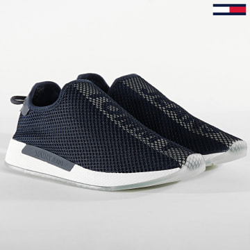 Tommy Jeans - Baskets Technical Mesh Flexi 0529 Twilight Navy