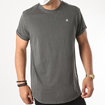 G-Star - Tee Shirt Lash D16396 Gris Anthracite