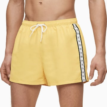 Calvin Klein - Short De Bain Drawstring 0451 Jaune