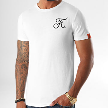 Final Club - Tee Shirt Premium Fit Avec Broderie 405 Blanc