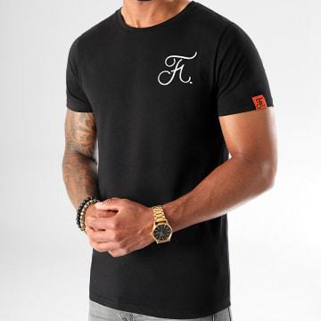 Final Club - Tee Shirt Premium Fit Avec Broderie 406 Noir