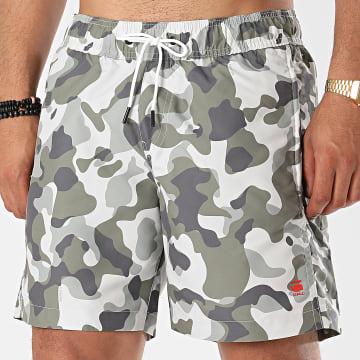 G-Star - Short De Bain Dirik D17261 Camouflage Gris