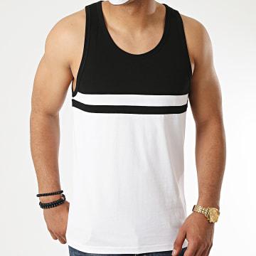 LBO - Débardeur Bicolore 1120 Blanc Noir