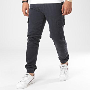 Indicode Jeans - Jogger Pant Bromfield Bleu Marine