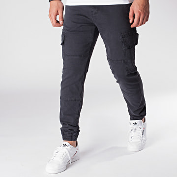 Indicode Jeans - Jogger Pant Bromfield Gris Anthracite