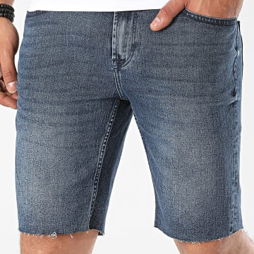 Only And Sons - Short Jean Ply 22015234 Bleu Denim