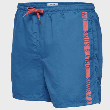 Only And Sons - Short De Bain Sted 22016134 Bleu Marine