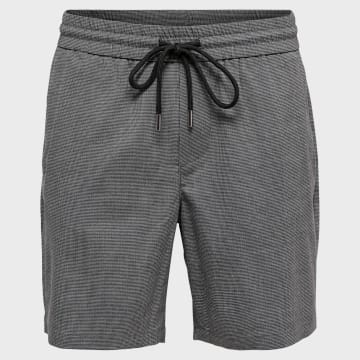 Only And Sons - Short Jogging Larry 22016555 Gris Chiné