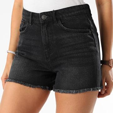 Only - Short Jean Femme Kelly 15199513 Noir