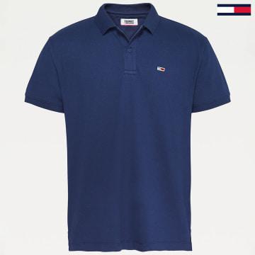 Tommy Jeans - Polo Manches Courtes Classics 7196 Bleu Marine