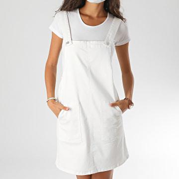 Vero Moda - Salopette Femme Clara 10228566 Blanc