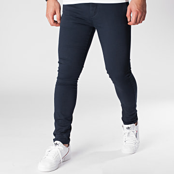 Celio - Pantalon Chino Skinny Motalia 4 Bleu Marine