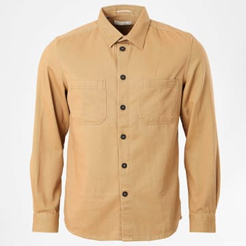 Celio - Chemise Manches Longues Rawork Camel
