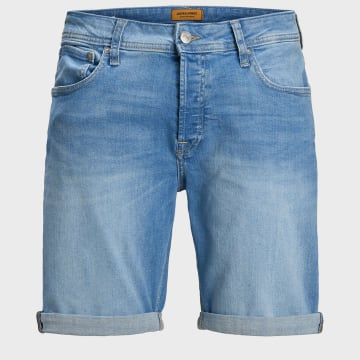 Jack And Jones - Short Jean Rick Original 12166860 Bleu Denim